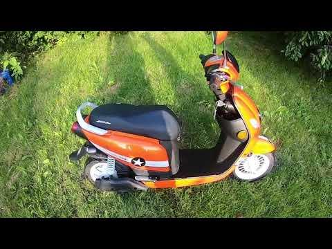 Электро скутер Aima Mango отзыв владельца.