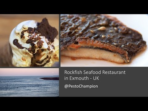 Devon, UK ✔ Seafood Dining At The Rockfish Restaurant In Exmouth 🍴