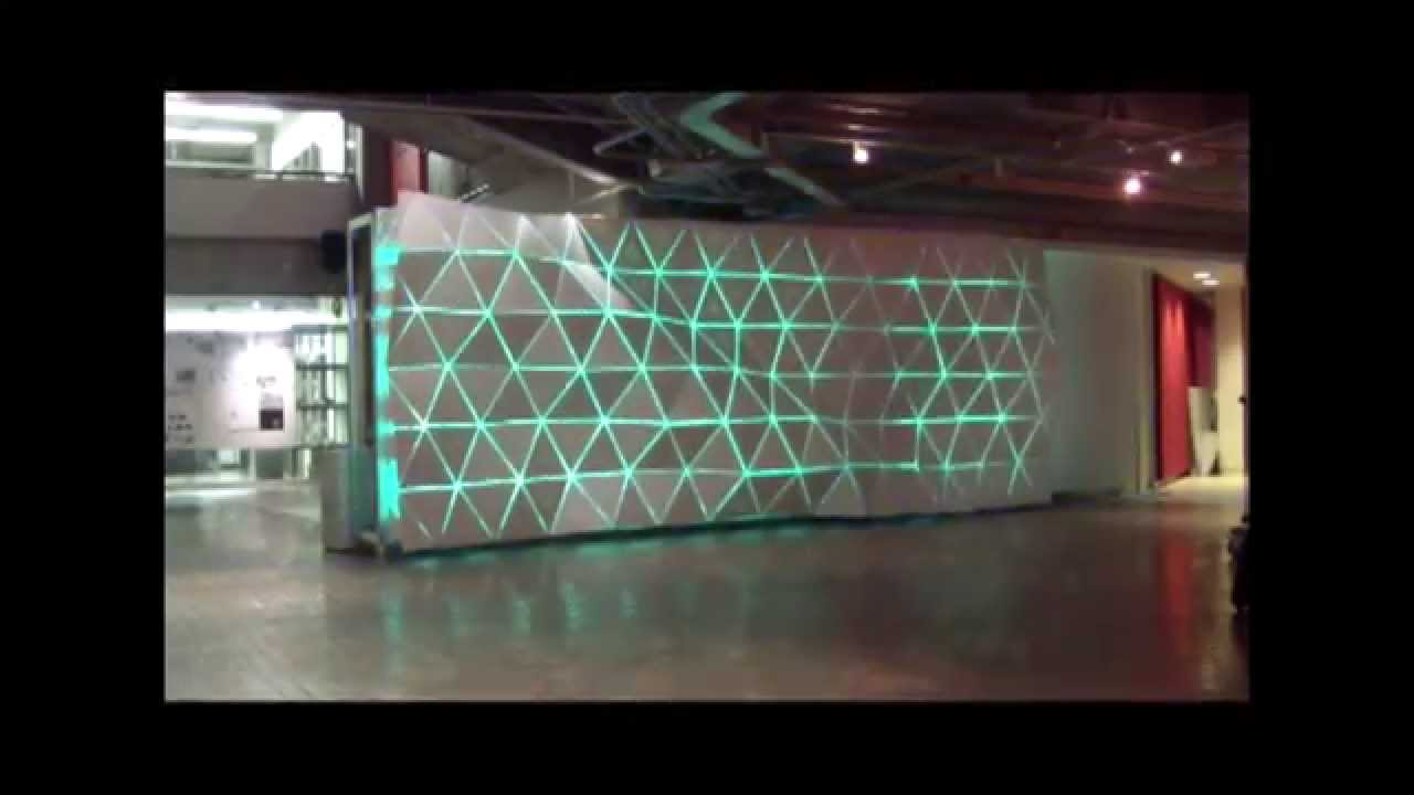 Paul h cocker gallery feature wall lighting display ryerson paul h cocker gallery feature wall lighting display ryerson architecture building youtube aloadofball