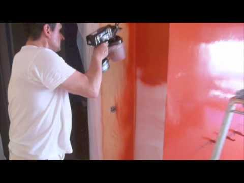Masillado de paredes quitar estuco estuco veneciano - Aplicacion colores paredes ...