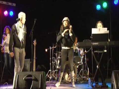 Katherine y su banda en concierto (Sant Esteve de Palautordera)