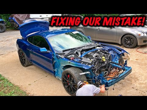 Rebuilding A Wrecked 2017 Mustang GT Part 10