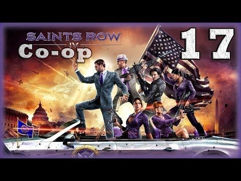 Смотреть прохождение игры [Coop] Saints Row IV. Серия 17 - Гигантские роботы против всех. [16+]