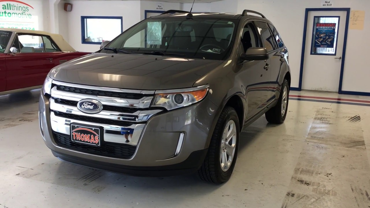 Ford Edge Mineral Grey Stock Zbb Relyonata