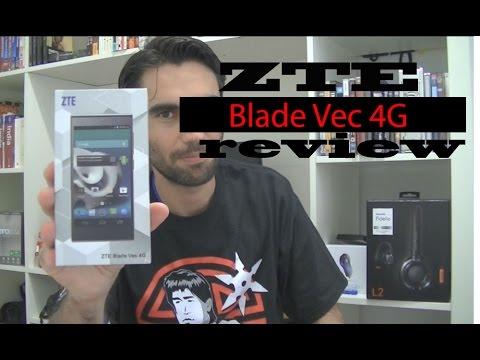 ZTE Blade Vec 4G review (en español)