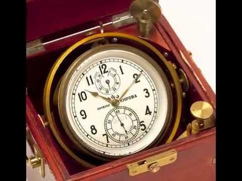 Russian Marine Chronometer Kirova 6MX USSR 1958