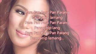 Alex Gonzaga - Panaginip Lang (With Lyrics)