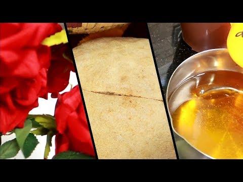 من يوميات دداح خبز كوشة ساهل و بنتو بنة و طريقة رائعة لصنع لعسيلة في البيت مع ماسك مبيض و مصفي للبشر
