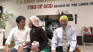 Fire of God Church SKIT -Falling asleep on the train ride