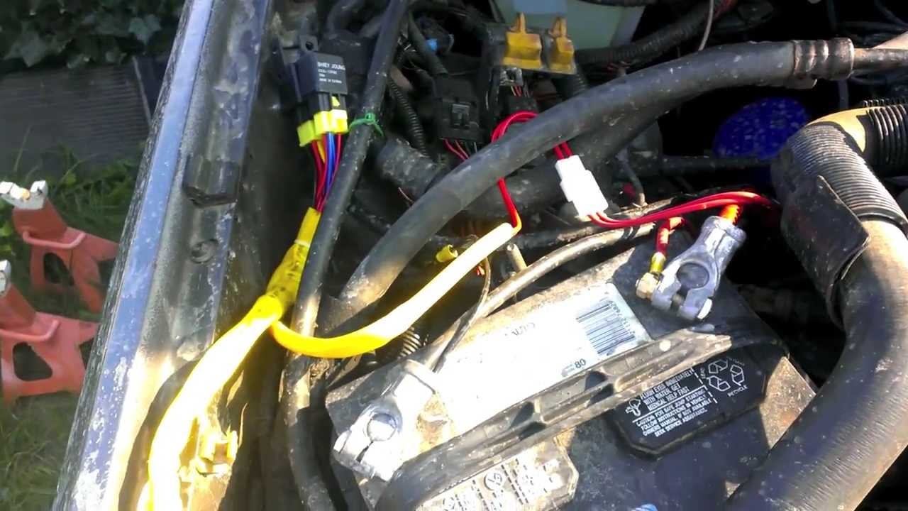 89 Cherokee Headlight Wire Harness Upgrade  YouTube
