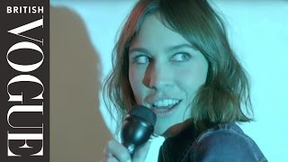 Alexa Chung Sings Stevie Nicks on Karaoke | British Vogue