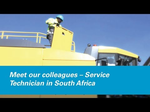 Meet our colleagues – Service Technician in South Africa