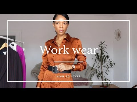 [VIDEO] - WORKWEAR OUTFIT IDEAS I FALL 2019 2