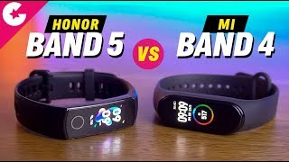 Honor Band 5 vs Mi Band 4 Full Comparison - Which One is BETTER!!