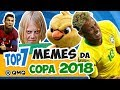 Melhores MEMES da Copa do Mundo 2018 | Top 7 | QMQ S03E55
