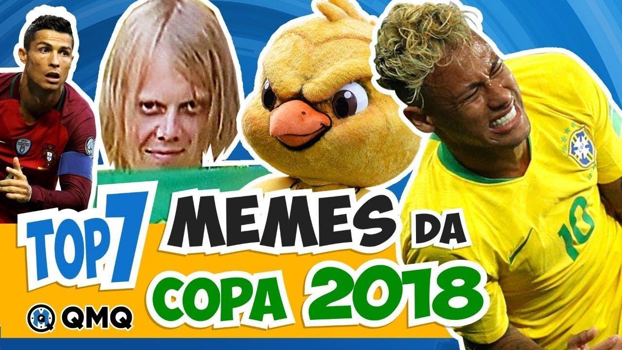 Melhores Memes Da Copa Do Mundo 2018 Top 7 Qmq S03e55