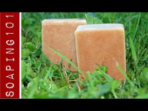 How to Make Poison Ivy Soap {with jewelweed}  S2W20
