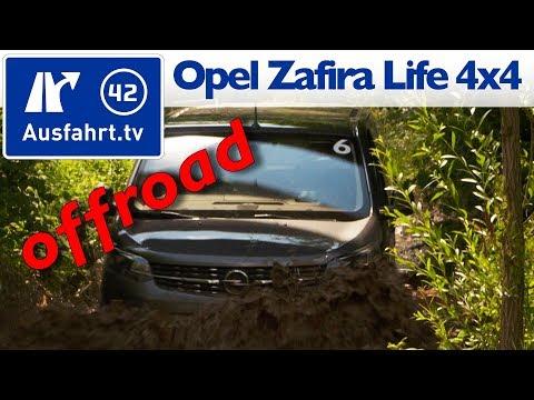 2019 Opel Zafira Life 4x4 von Dangel - Offroad