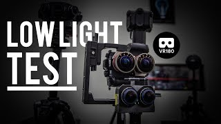 VR180 Low Light Test - Z Cam K1 Pro VS Kandao Obsidian VS GH5