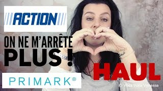 HAUL ACTION & PRIMARK Mars 2018 : J'ai encore craqué ! Déco, mode et beauté