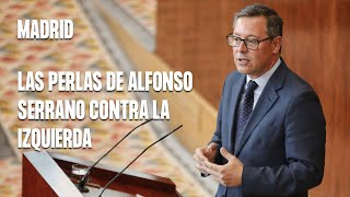 Las perlas de Alfonso Serrano contra la izquierda en el debate de investidura de Ayuso