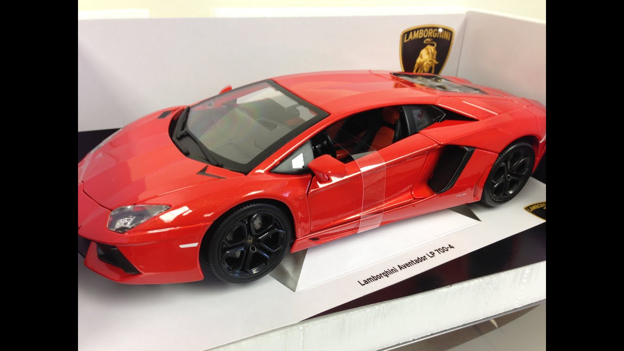 Lamborghini Aventador Toy Car Youtube