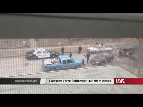Excessive force settlement laid off two weeks
