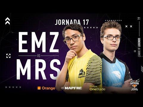 EMONKEYZ CLUB VS MOVISTAR RIDERS   Superliga Orange League of Legends   Jornada 17   Temporada 2019 thumbnail