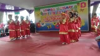 Tari cindai TK Islam Almusyawarah Cabangbungin