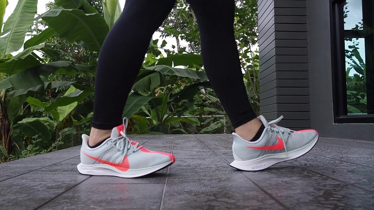 54bda5d36ff7b Nike Pegasus 35 Turbo Women on feet - YouTube