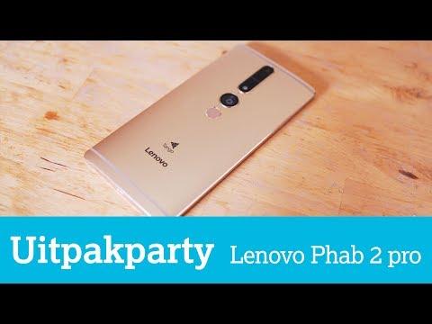 Uitpakparty: Lenovo-smartphone ziet diepte dankzij Google Tango-technologie