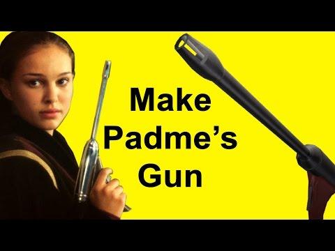 How to Make Padme's Blaster - ELG-3A (Star Wars DIY)