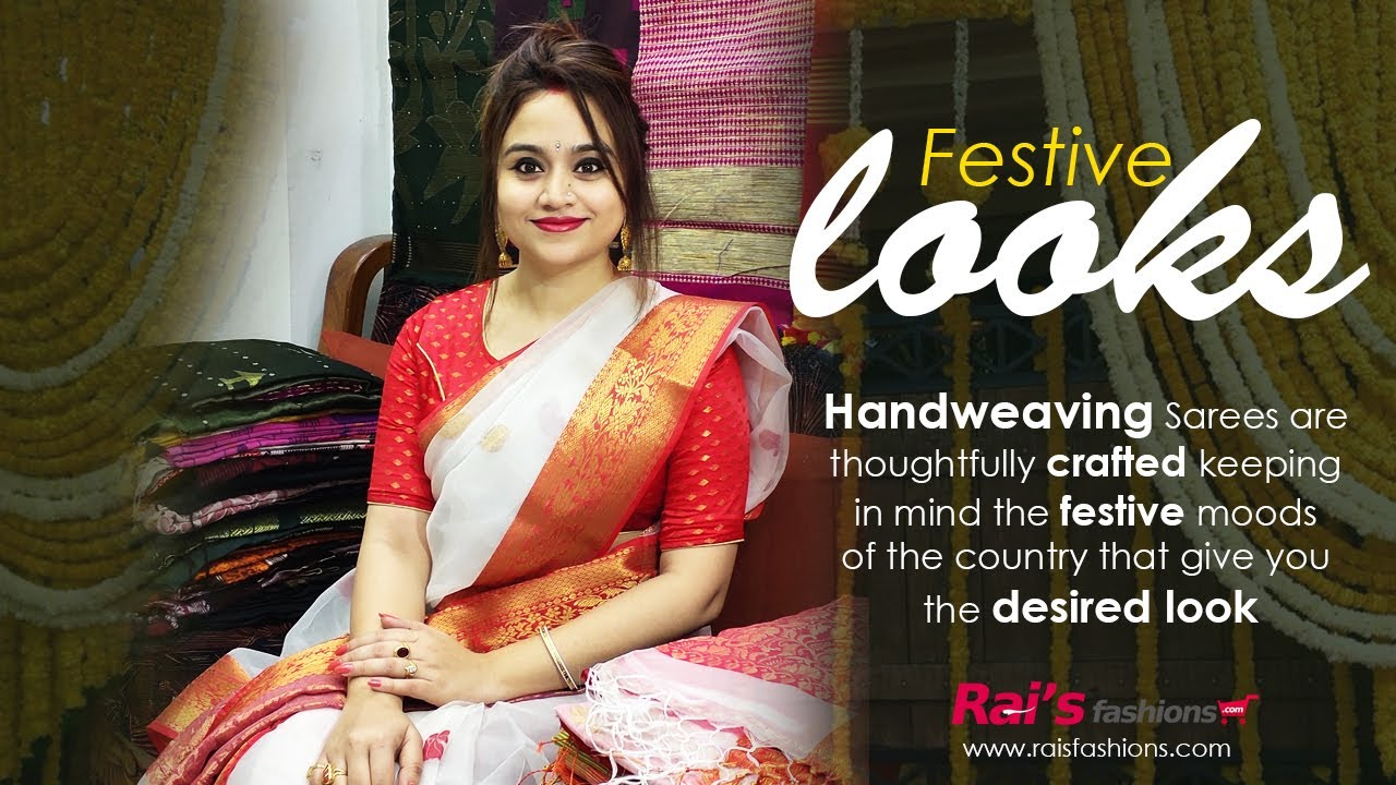 Rai's Fashions Handloom Sarees Collection For Your Festive Looks!! (21st September) - 20SF
