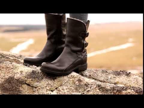Sheepskin Biker Boots