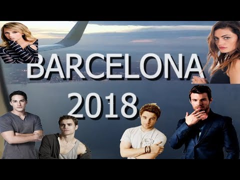 ¿Daniel Gillies me pide MATRIMONIO en BARCELONA? BLOODYNIGHT 2018  Bonsi