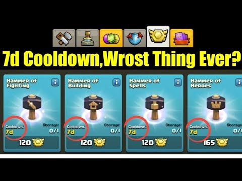 7 Day Cooldown For Hammers - Worst Thing Ever? | June 2019 Update