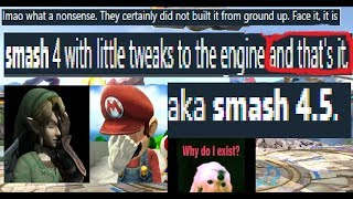 """""""SMASH ULTIMATE IS JUST A PORT"""" LITERALLY END ME"""