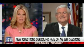 Newt Gingrich: Trump Firing Jeff Sessions Would be a 'Big Mistake' Free HD Video