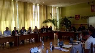 LII sesja Rady Powiatu Łaskiego 4