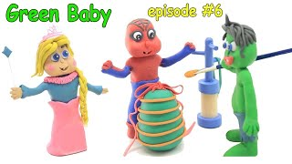 Red Green and Blue Baby In BIG EASTER EGGS - Stop Motion Cartoons For Kids thumbnail