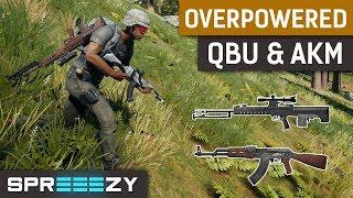 QBU and AKM - Most Broken Weapon Combo on Sanhok