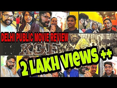 KGF Chapter 1 - HINDI DUBBED DELHI PUBLIC MOVIE REVIEW REACT