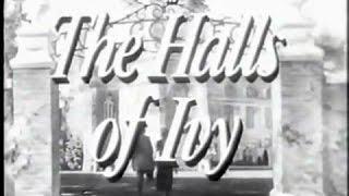 CBS Halls of Ivy 1955