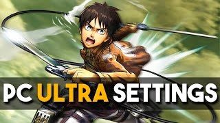Attack on Titan / A.O.T. Wings of Freedom PC Ultra Settings Gameplay