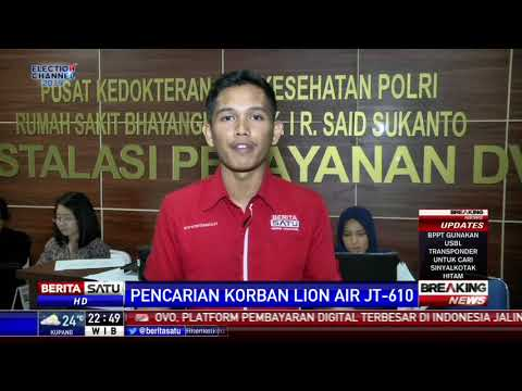 DVI Polri Kesulitan Identifikasi Jenazah Korban Lion Air