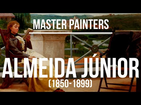 Almeida Júnior (1850-1899) A Collection Of Paintings & Drawings 4K Ultra HD Silent Slideshow