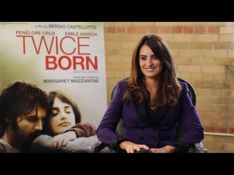 Penélope Cruz - Twice Born Interview with Tribute at TIFF 2012