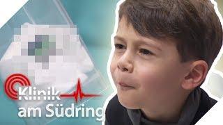Luis (6) will mit Papa spielen! Jetzt isst er gefährlichen Gegenstand!   Klinik am Südring   SAT.1