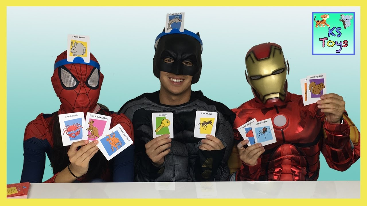 Hedbanz guessing game family fun game night spider girl batman iron hedbanz guessing game family fun game night spider girl batman iron man surprise toys my little pony solutioingenieria Choice Image