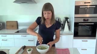 Quick & Healthy Lunch Recipe: Raw Vegan Wrap With Dijon Guacamole